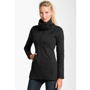 The North Face- Caroluna Quilted Fleece Jacket